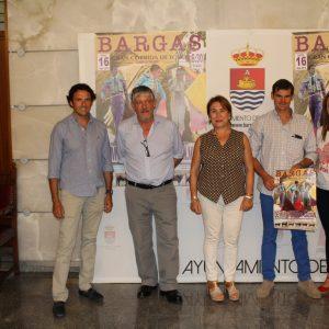 Bargas presenta el cartel taurino de las fiestas de septiembre 2019