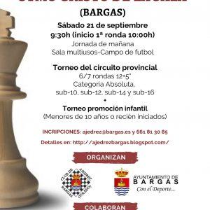 Torneo de Ajedrez «Stmo. Cristo de la Sala» 2019
