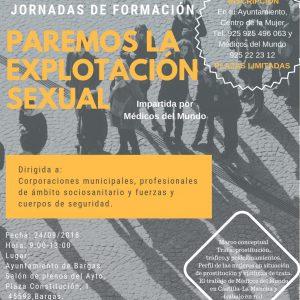 Jornadas de formación: «Paremos la explotación sexual»
