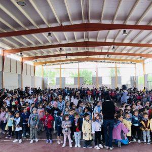 Pregones escolares de inicio de fiestas en la Escuela Infantil «Gloria Fuertes» y en el Colegio «Stmo. Cristo de la Sala» de Bargas