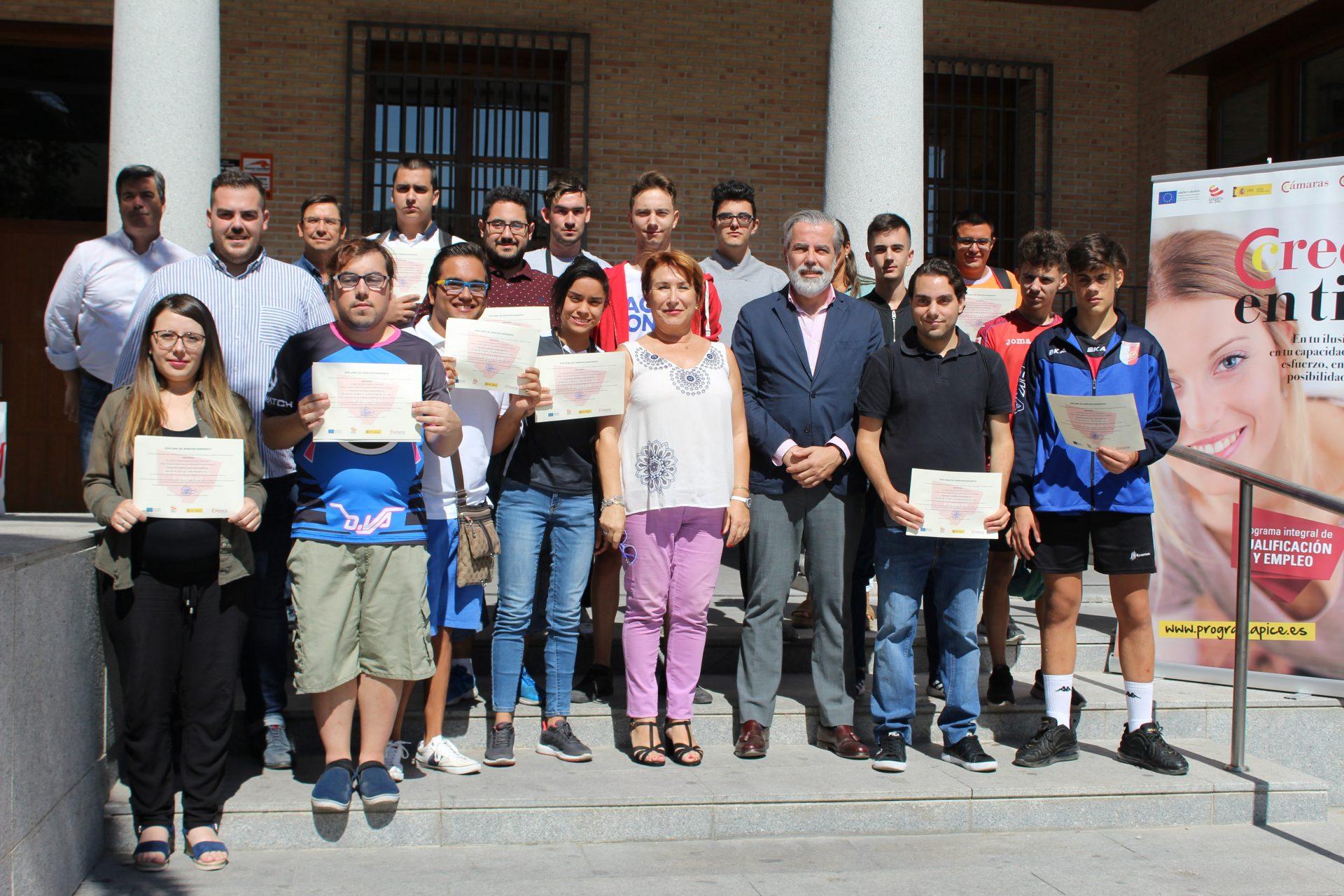 Bargas clausura el Curso de Técnico de Reparación de Móviles y Tablets para Jóvenes