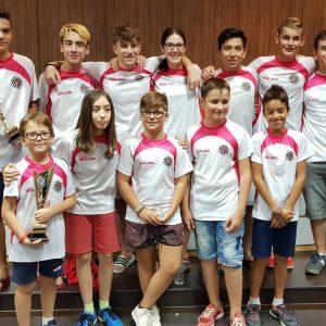 Nuevo doblete del Ajedrez Bargas – Fundación Soliss en los regionales de clubes Sub-12 y Sub 18 de Albacete