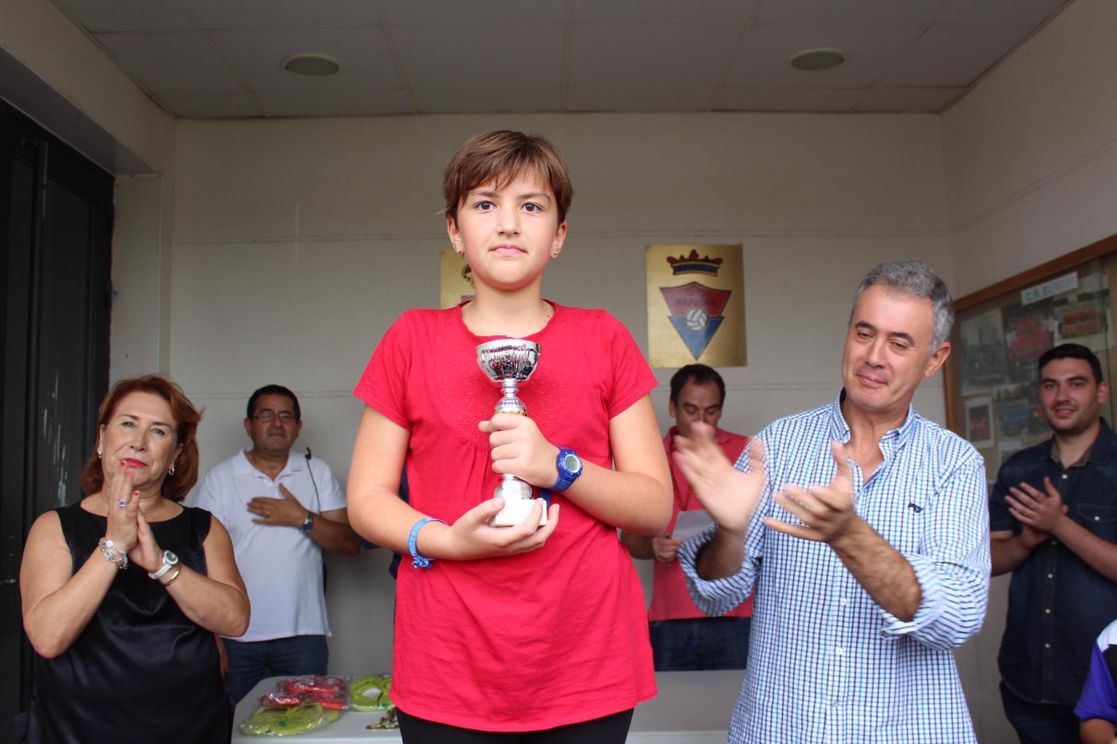 14. Campeona Femenina Peques