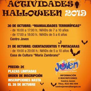 Actividades Halloween 2019