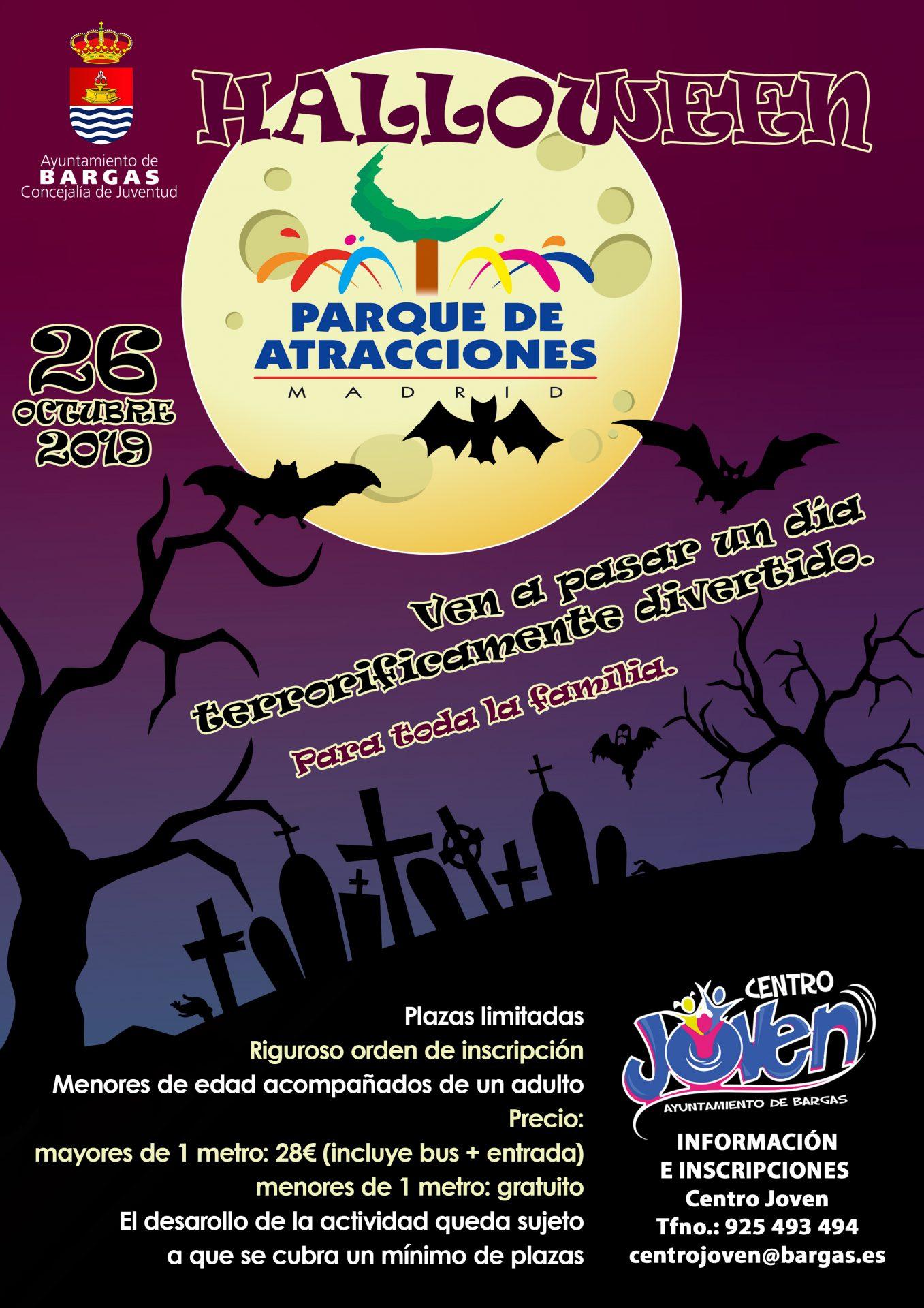 Halloween 2019 – Parque de Atracciones de Madrid