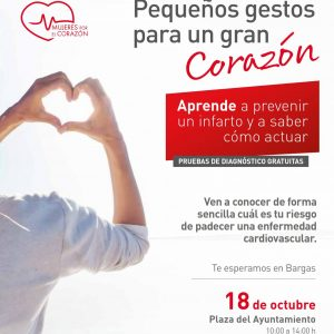 Mujeres por el corazón: Pequeños gestos para un gran corazón