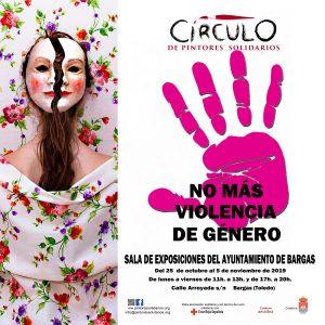 Exposición del Círculo de Pintores Solidarios: «No más violencia de género»