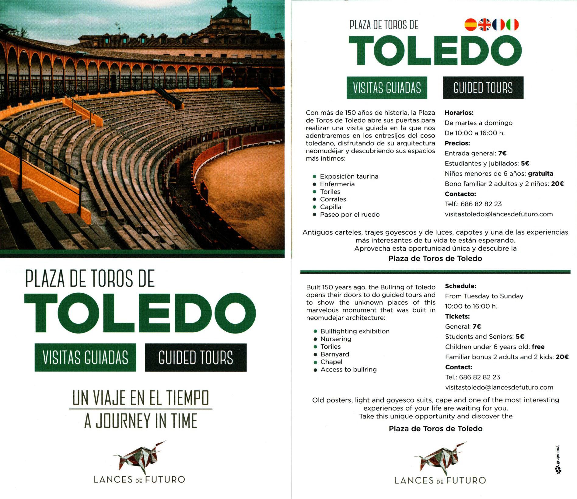 Visitas guiadas a la Plaza de Toros de Toledo