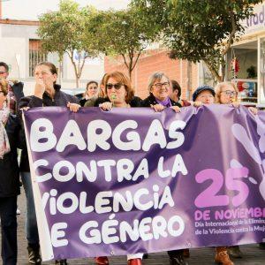 Bargas hace ruido contra la violencia de género