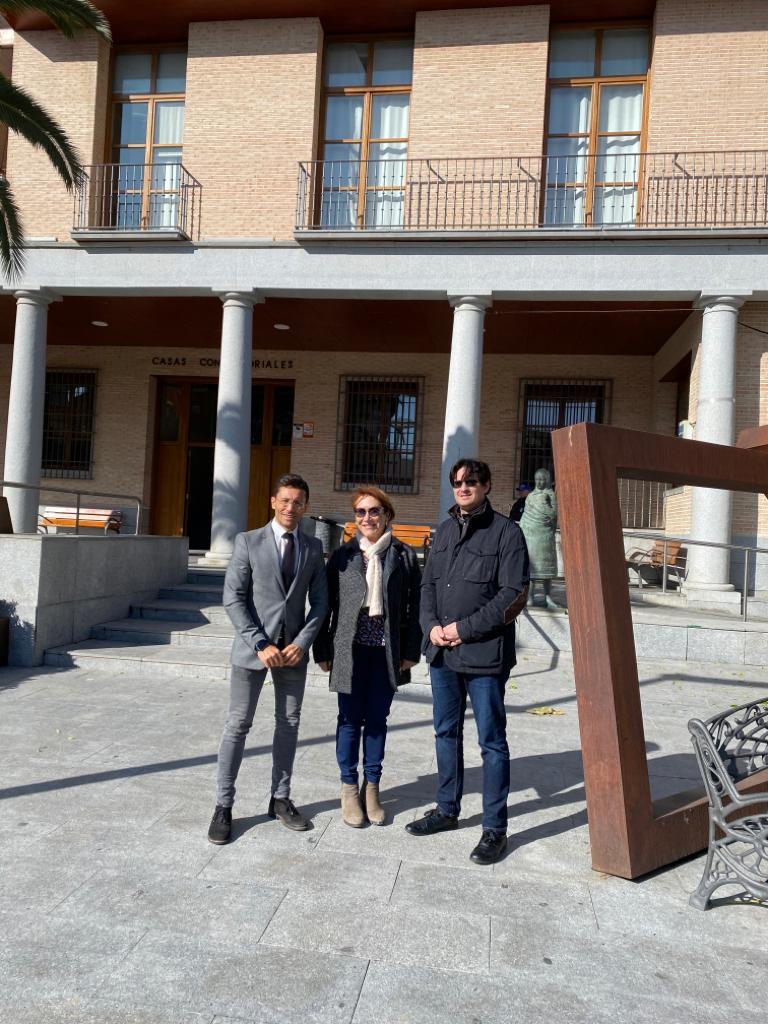 Visita del Delegado de Fomento para conocer, de primera mano, las necesidades de Bargas