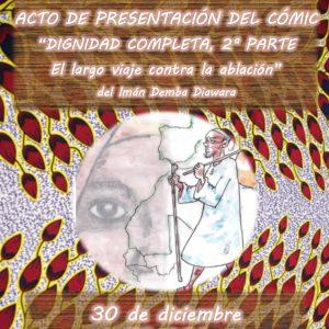 Acto de presentación del cómic «Dignidad completa 2ª parte – El largo viaje contra la ablación»
