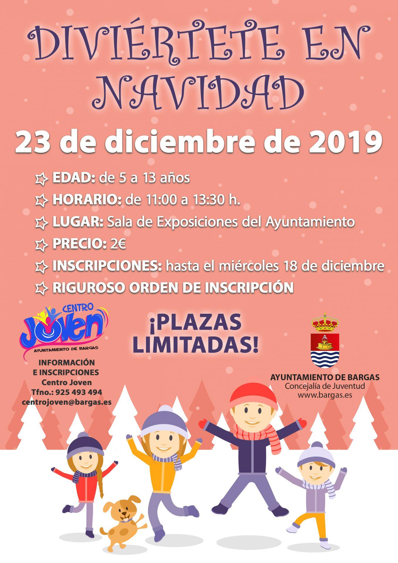 Diviértete en Navidad – 2019