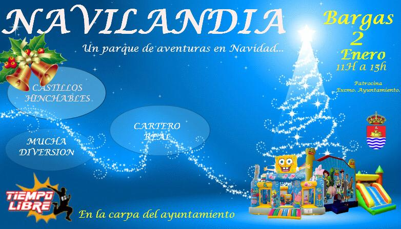 Navilandia: «Un parque de aventuras en Navidad»