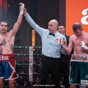 Ricardo Hernández se proclamó Campeón de boxeo de la Comunidad de Madrid