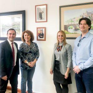 La Alcaldesa de Bargas se reúne con el Delegado de Educación para valorar las necesidades educativas del municipio
