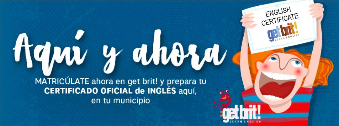 Prepárate para el éxito con get brit! y obtén tu certificado oficial en Bargas