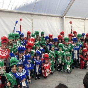 Brillo, diversión y originalidad en el Carnaval de Bargas