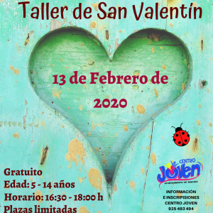 Taller de San Valentín