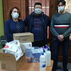 Un empresario de la localidad dona material sanitario al Ayuntamiento de Bargas