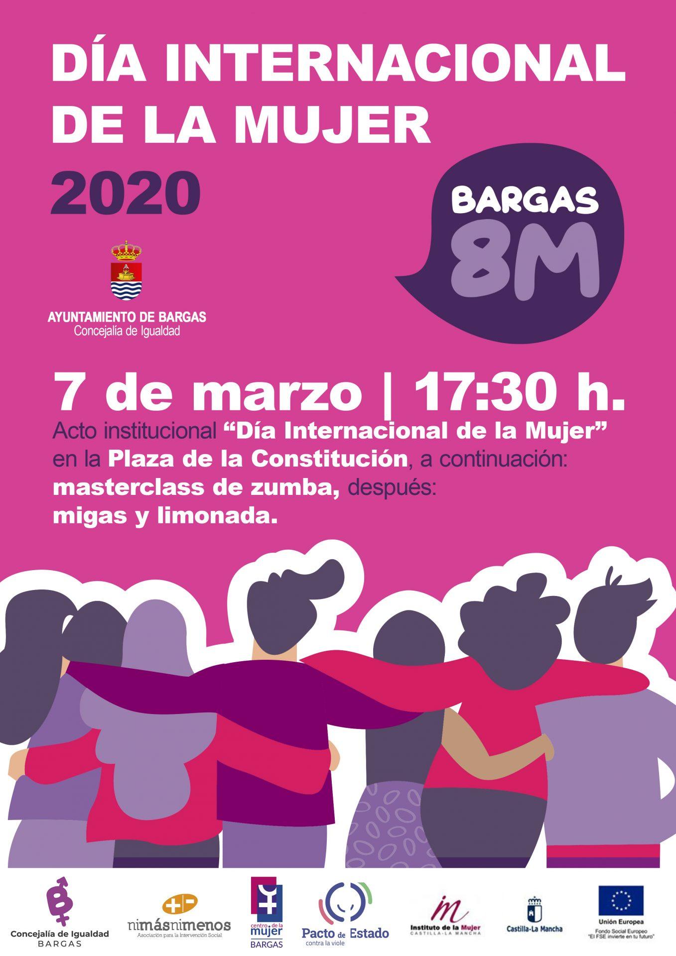 Acto institucional del Día Internacional de la Mujer 2020