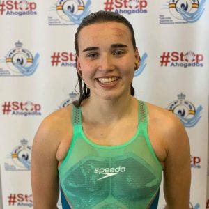 Participación de Miriam de Dios Lasa en el Campeonato de España de Salvamento