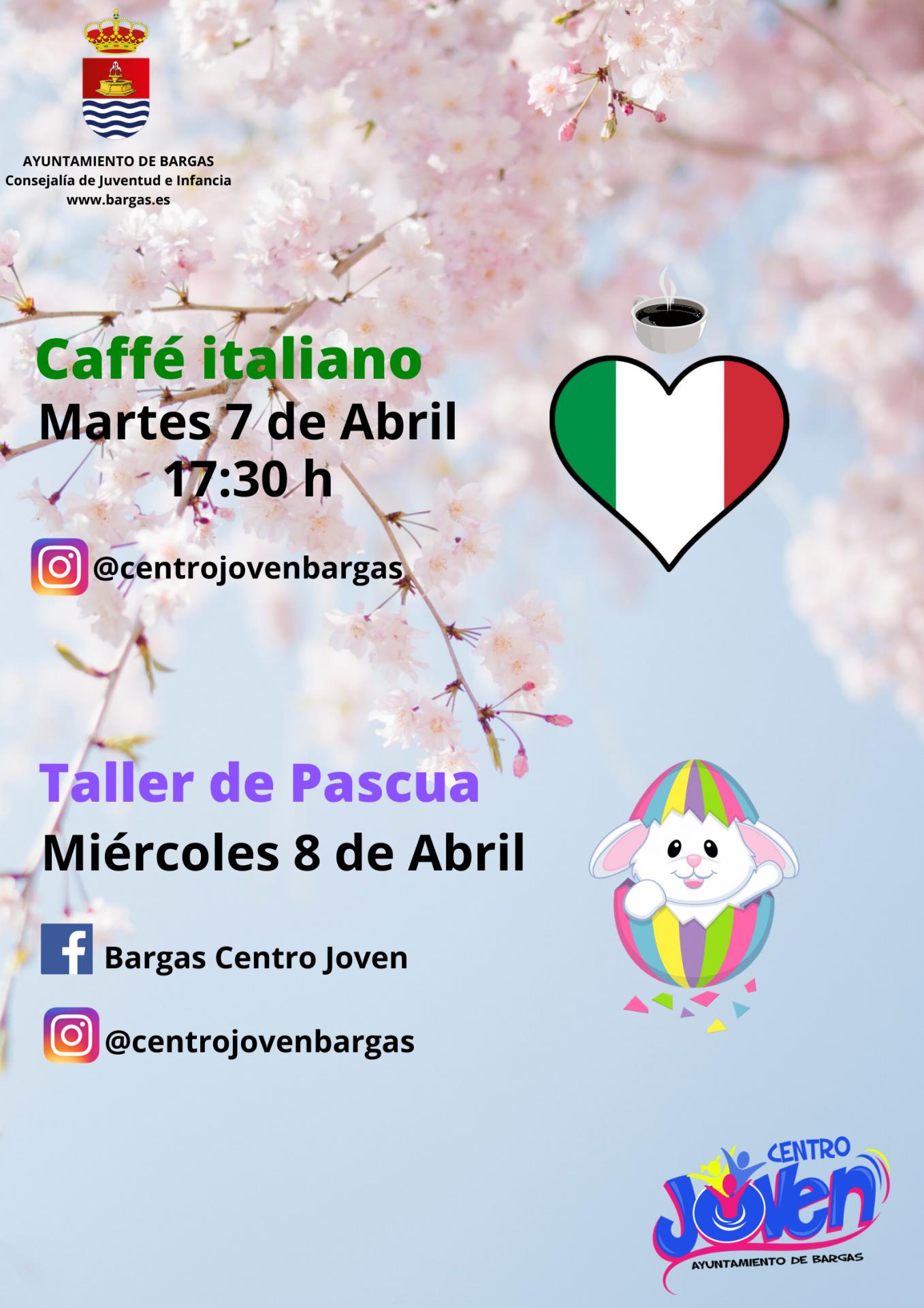 Caffé Italiano y Taller de Pascua