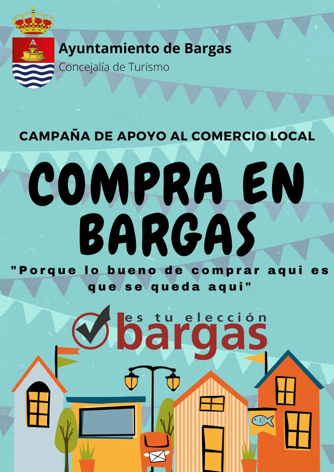 Campaña de apoyo al comercio local: «Compra en Bargas»