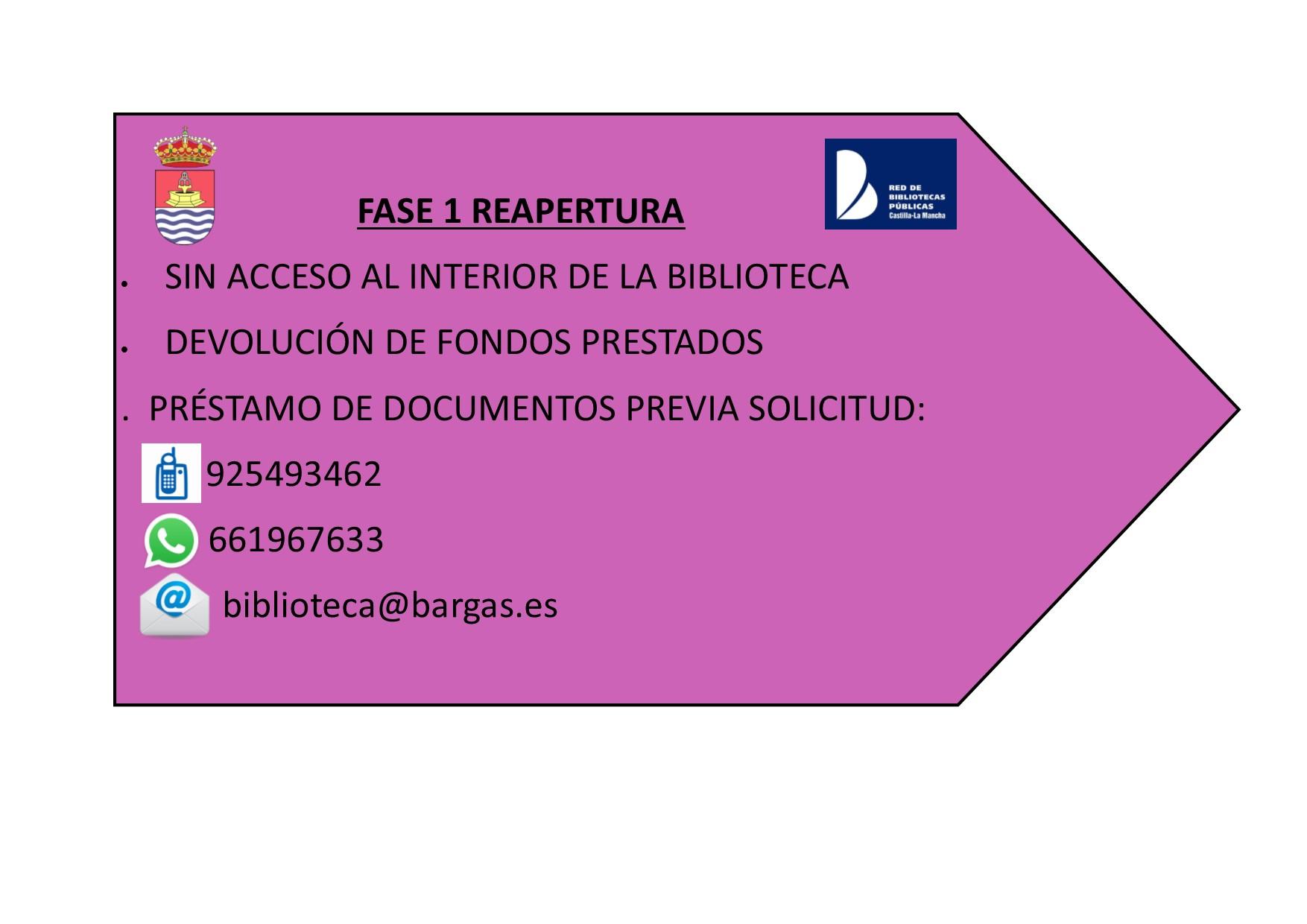 REAPERTURA FASE 1