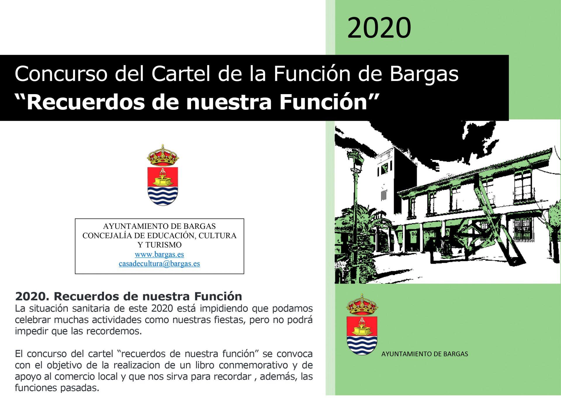 Concurso del Cartel de la Función 2020: «Recuerdos de nuestra Función»