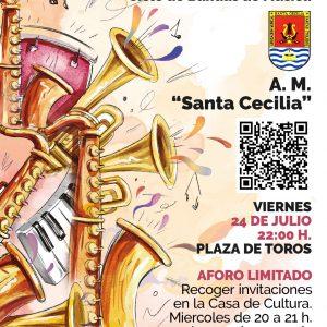 Verano Cultural 2020: Concierto de la A. M. «Santa Cecilia»
