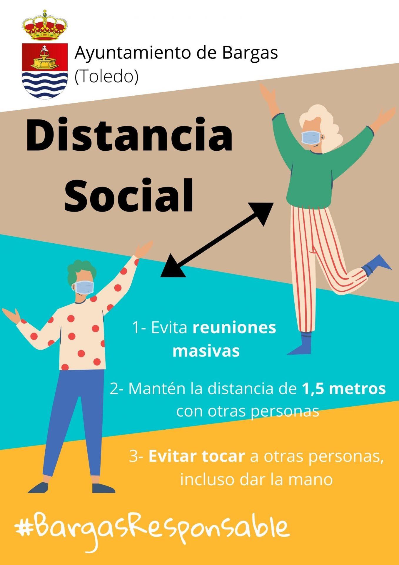 Distancia Social #BargasResponsable