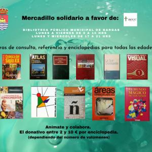 Mercadillo solidario a favor de la Asociación Española Contra el Cáncer