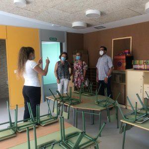 Los centros educativos centran la atención del Ayuntamiento de Bargas
