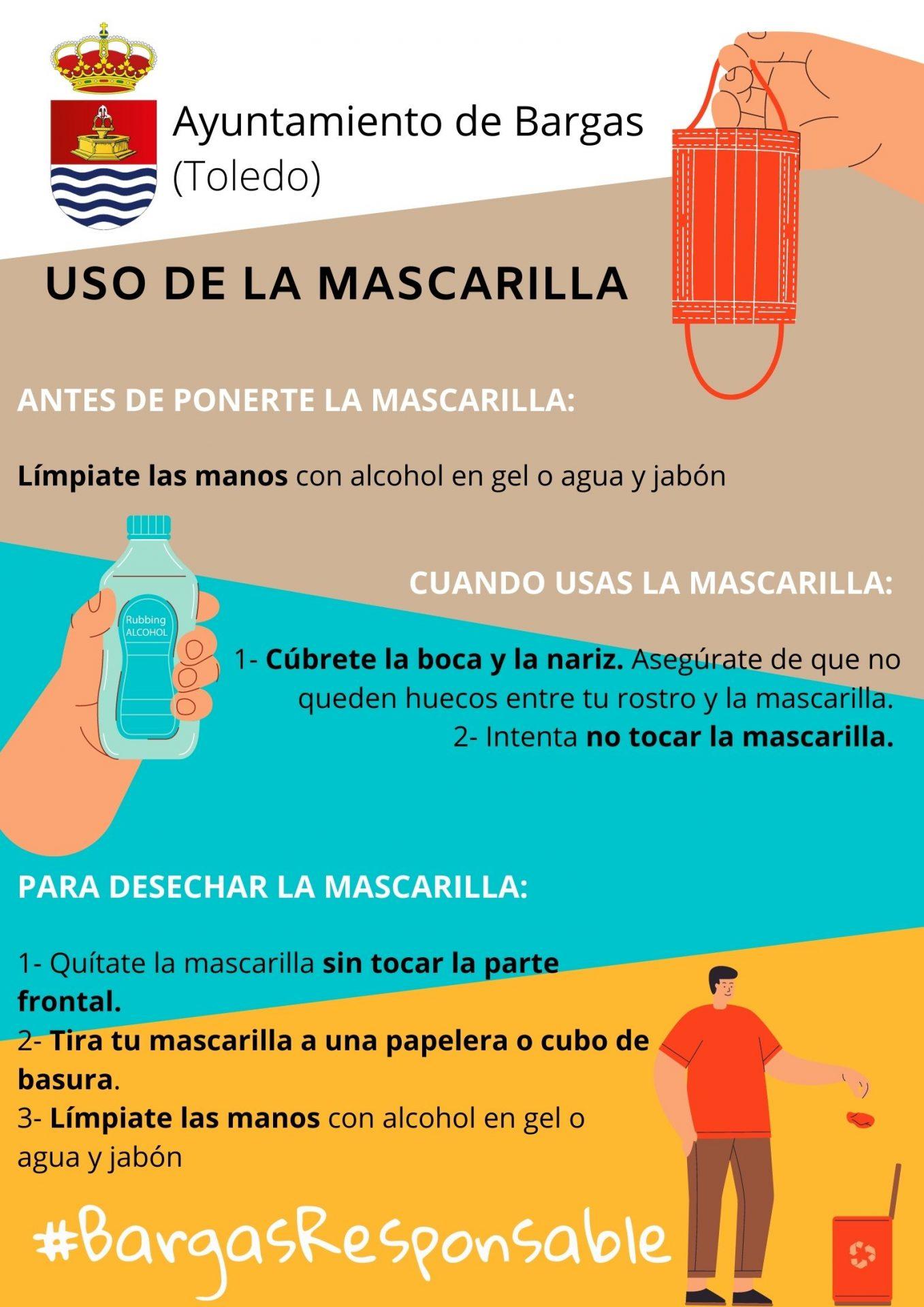 Uso Mascarilla #BargasResponsable