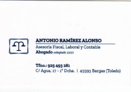 Asesoría Antonio Ramírez Alonso