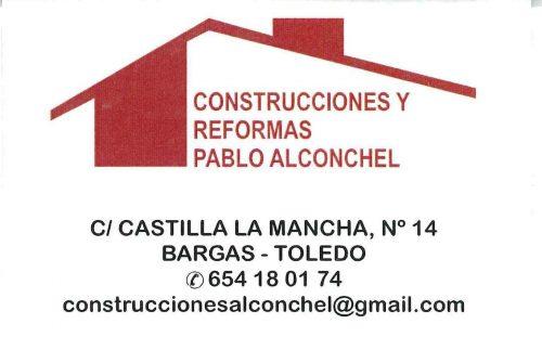Construcciones y Reformas Pablo Alconchel
