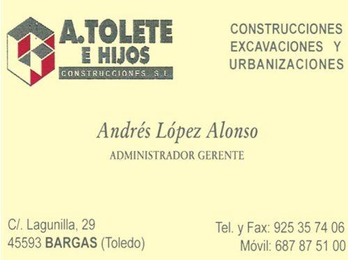 A.Tolete e Hijos, Construcciones S.L.