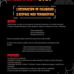 Concurso de Vídeo-Halloween 2020 (AMPLIADO EL PLAZO DE PRESENTACIÓN)
