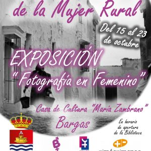 Día Internacional de la Mujer Rural: Exposición «Fotografía en Femenino»