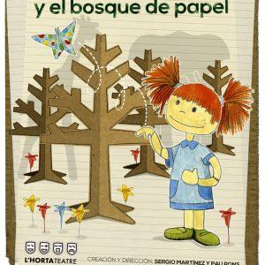<span style='color:red;'> CANCELADO HASTA NUEVA COMUNICACIÓN </span><br> Teatro infantil (+3 años): «Martina y el bosque de papel»