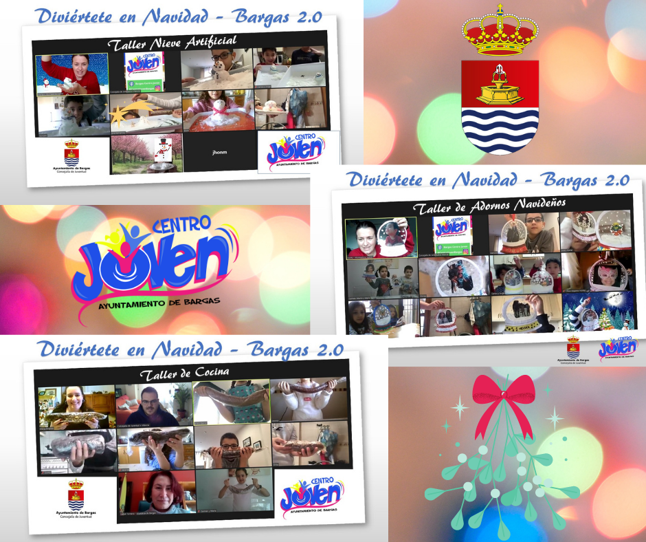Clausura programa Diviértete en Navidad 2.0 – Bargas 2020