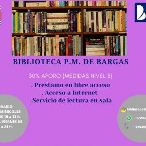 Reapertura de la Biblioteca Pública Municipal