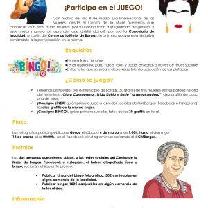 "Bingo Fotográfico ""HUELLAS FEMENINAS"""