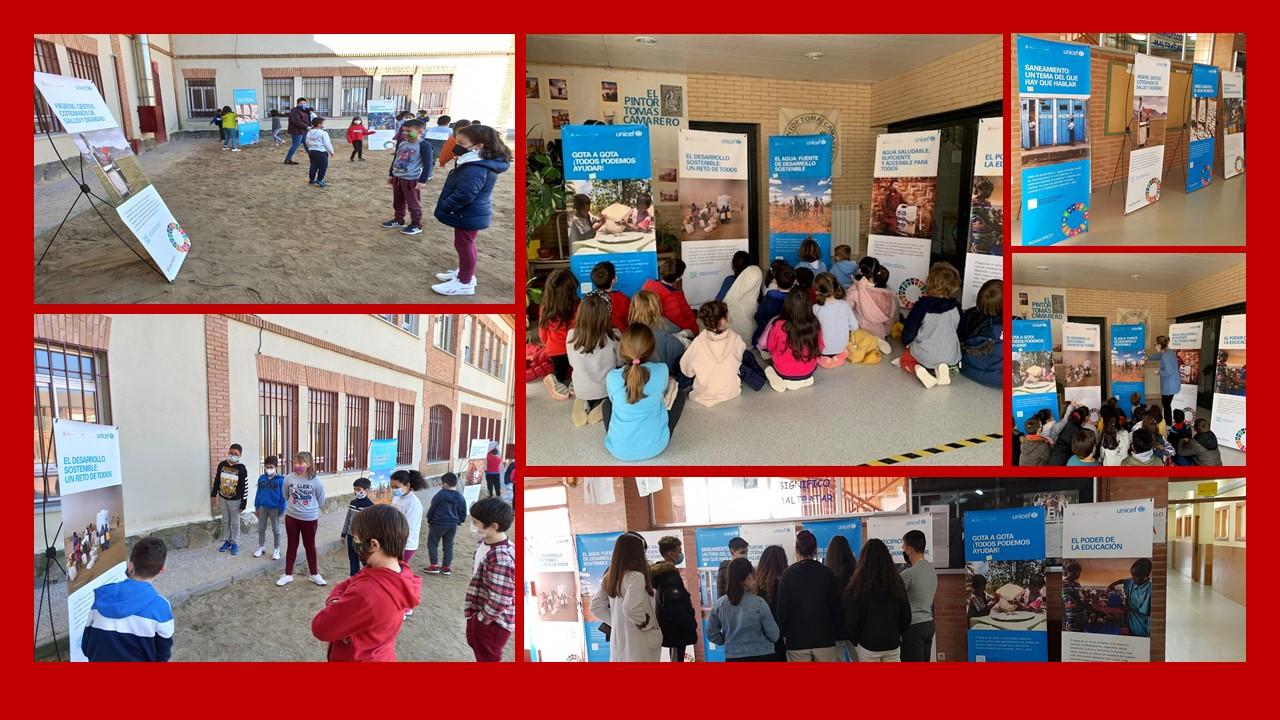Bargas acoge la exposición del Día Mundial del Agua