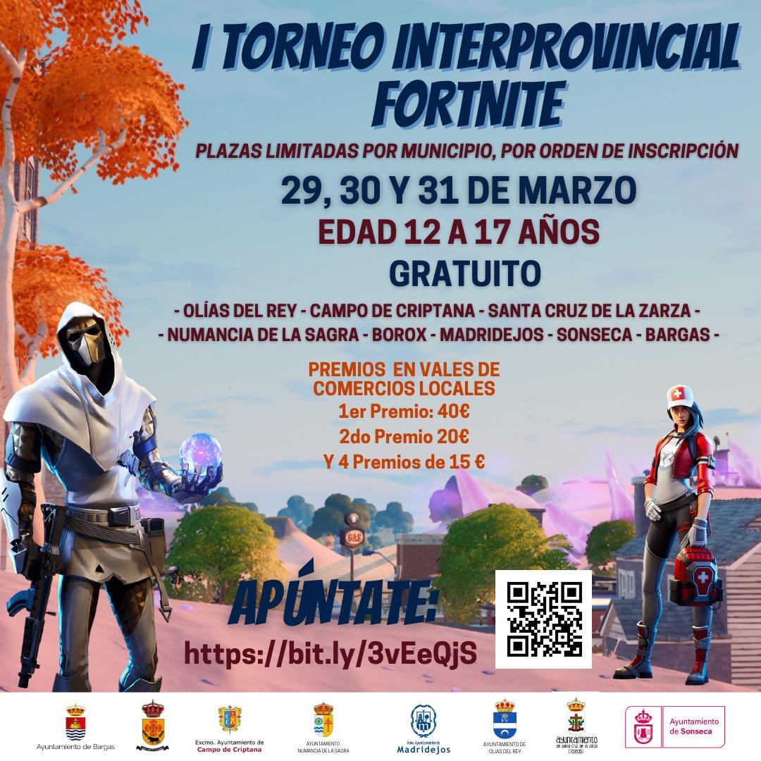 🎮 I Torneo Interprovincial de Fortnite – Toledo y Ciudad Real 🎮