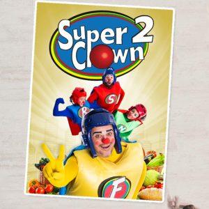 <strong>APLAZADO HASTA NUEVA FECHA</strong> – Teatro Infantil: «Superclown 2. Comida sana» (+4 años)