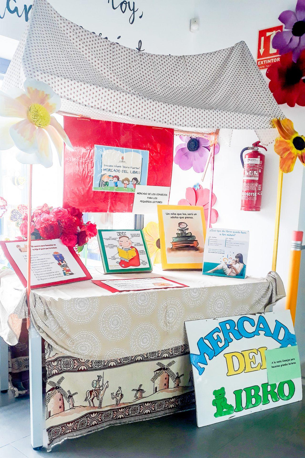 Día del Libro en la Escuela Infantil «Gloria Fuertes»