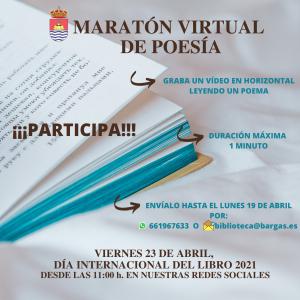 Maratón virtual de poesía