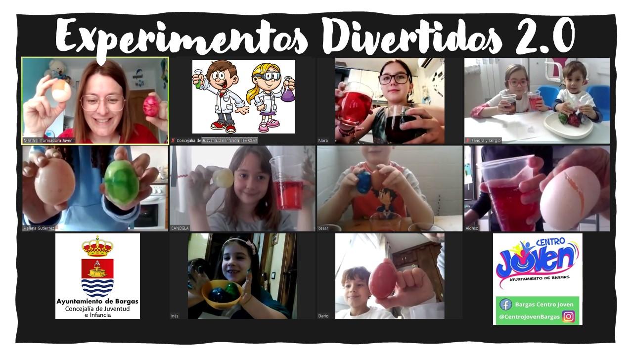 Clausura del programa Diviértete en Semana Santa 2.0 «Experimentos divertidos»