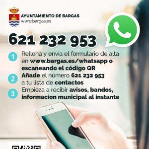 Nuevo servicio de información vía WhatsApp